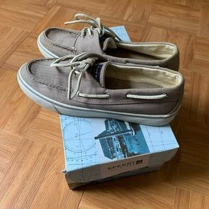 Sperry Bahama Grey Canvas shoes